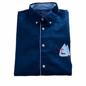 Harmont & Blaine Navy L/S Shirt XL